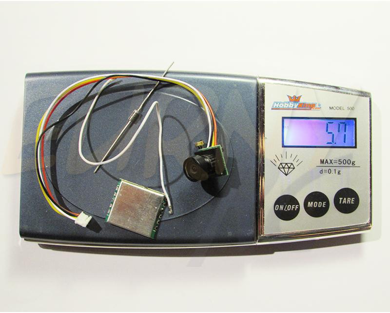 Avant montage, un poids total de 5,7 grammes | Déjà léger