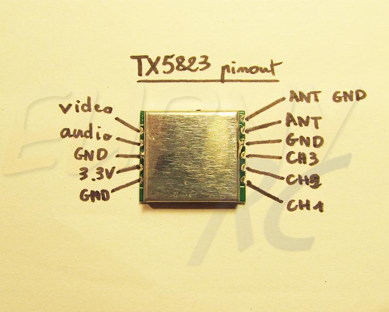 TX5823 Pinout