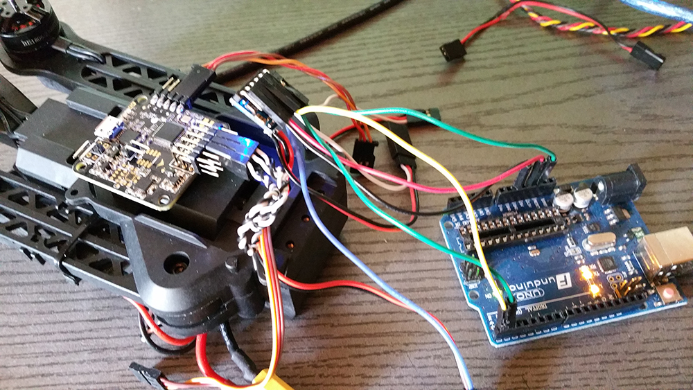 Arduino Uno Micro MinimOSD